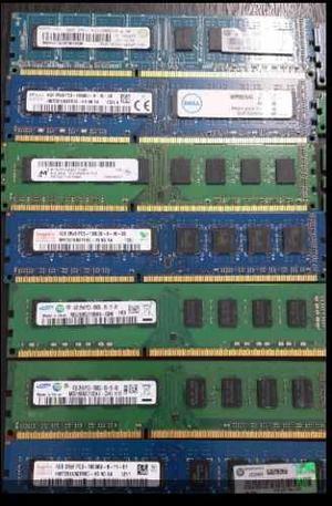 Memoria Ddr 3 4gb Para Pc