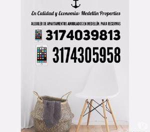 Arriendo de Apartamentos Amoblados en Antioquia Cód:4026