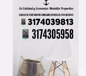 Arriendo de Apartamentos Amoblados en Antioquia Cód:4028