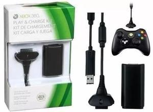 Kit Carga Y Juega Xbox  Ni-mh Cargador