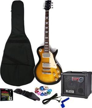 Kit De Guitarra Vorson Les Paul + Amplificador Joyo Efectos