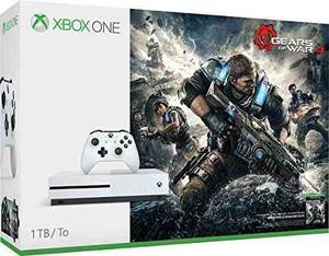 Microsoft Xbox One S Gears Of War 4 Paquete De Consola De 1t