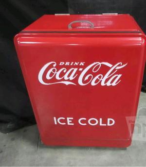 Nevera en forma de lata de coca cola usada posot class - Nevera coca cola retro ...