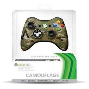 Original Microsoft Xbox 360 Pc Control Inalambrico Camuflado