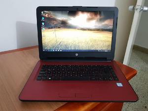 PORTATIL HP 14 i7 6ta TURBO 3.10GHZ, 500GB DISCO, 8GB RAM