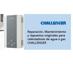 Reparacion de calentadores | challenger a domicilio