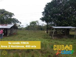 Se vende Finca en Villagarzón- V/ La Paz