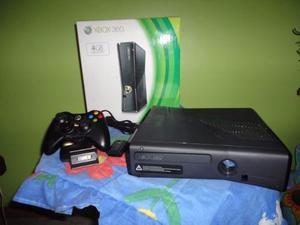Xbox 360 Slim 250gb 2 Controles Chipiado Lt 3.0