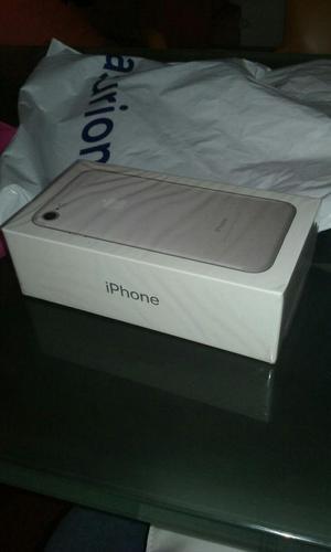 iPhone 7 Silver 32gb Totalmente Nuevo Sin Abrir!