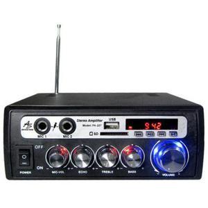 Amplificador Audicion Publico Con Usb/ Sd/ Bluetooth/ Fm