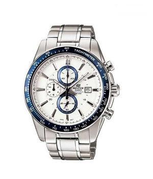 Reloj Casio Edifice Ef-547d Cronografo Acero 100% Original