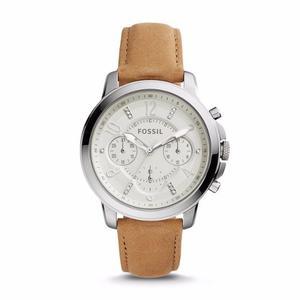 Reloj Fossil Gwynn Cronógrafo Cuero Mujer Es