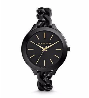 Reloj Michael Kors Slim Runway Chain-link Mujer Mk