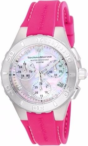 Reloj Technomarine Medusa Cronógrafo Mujer 40mm