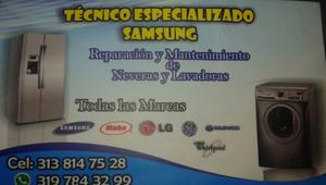 !!!Servicio Tecnico Lavadoras y Neveras¡¡¡¡¡