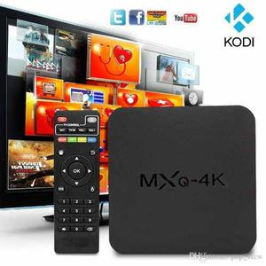Tv Box Mxq 4k Ultra Hd Wifi Convertidor 1 Gb Ram 8 Gb Androi