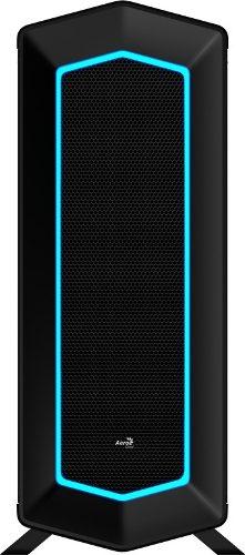 Chasis / Case / Torre Aerocool Color Negro Con Luz (rgb)