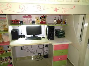 Hermosa Cama Escritorio Con Amplio Closet Nueva Posot Class # Muebles Rekreo Bogota