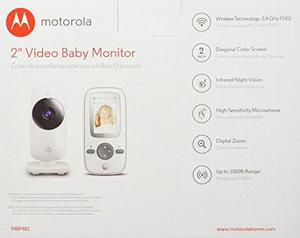 Motorola MBP GHz Digital Video Baby Monitor