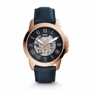 Reloj Fossil Grant Automático Cuero Hombre Me