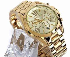 Reloj Mujer Michael Kors Dorado Mk Bradshaw