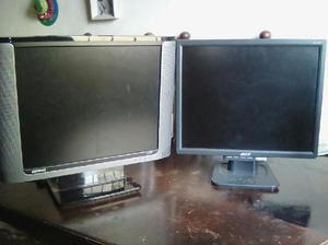 Se Venden 2 Monitores Hd Compaq Y Acer - Cisneros