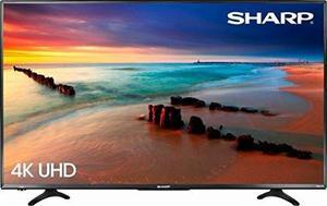Sharp 43 Led p Smart 4k Ultra Hd Tv Roku Tv