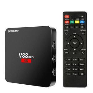 TV BOX v88 4k Negro Convierte tu TV en Smart! OFERTA -