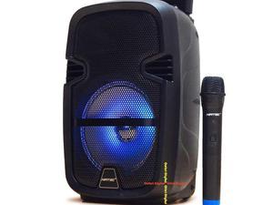 Cabina recargable niatec 8 pulgadas con luces microfono