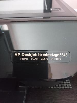 Vendo Impresora Hp Deskjet Ink 3545 - Bogotá