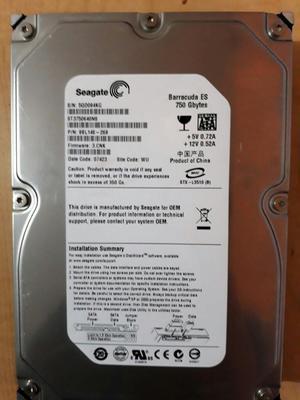 Vendo Disco Duro de 750gb en Buen Estado