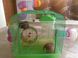Jaula para Hamster con Accesorios. - San Juan de Pasto