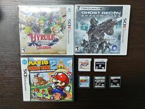 Lote de Juegos Nintendo 3DS y DS Venta o Cambio por Juegos