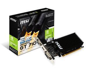 Tarjeta Video Nvidia Msi Gt 710 2gb Ddr3 Hdmi Dvi Vga Gt710
