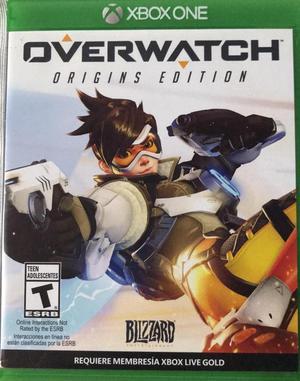 Video Juego Overwatch Xbox One Usado