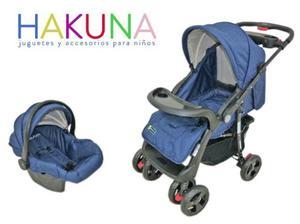Coche para bebé con silla para el carro
