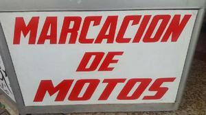 Marcacion de Motos a Domicilio - Cali