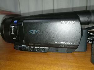 Camara de Video en 4k Sony Fdr Ax100 Videograbadora Sony,