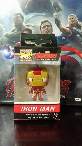 Llavero Funko Pop Orignal Iron Man