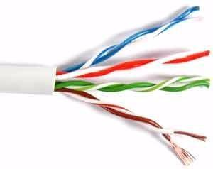 Metro De Cable Utp 5e Para Redes Y Cctv