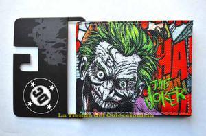 The Joker Billetera De Lujo Dc Comics Guason
