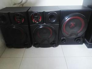 Vendo Equipo de Sonido Lg Cm