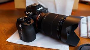 camara full frame sony a7 lente