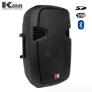 Cabina Activa Kohlt Usa Kmas 15a 800w Pmpo Bluetooth Usb Sd