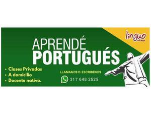 Clases de Portugues a domicilio con docente Nativo