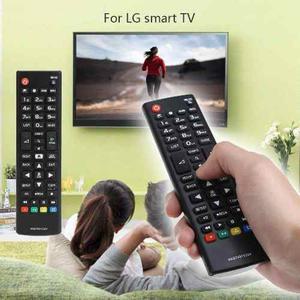 Control Remoto Lg Tv Led Boton Smart + Obsequio, D Reemplazo