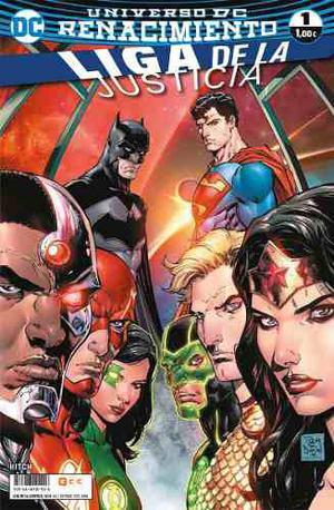 Dc Comics - Liga De La Justicia Renacimiento 1 Al 11 - Es