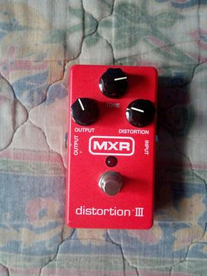 Pedal para Guitarra Mxr Distortion Iii.