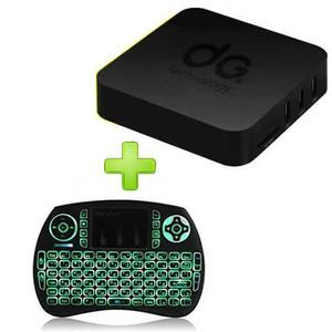 Tv Box Android Convierte Smart Tv+teclado Mouse Inalambrico