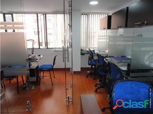 Venta de Oficina AMOBLADA de 30 m2 en Bogotá